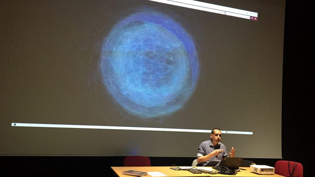"""Frank Soudan presenting on """"FFF"""""""