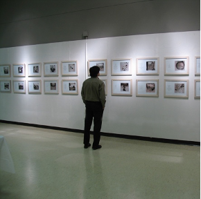 "Me.mo.ri.al (1994-2008), artist book and printed folio, 8""x 8"""