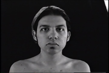 Headshots (1998), single-channel video, silent, color, 11 minutes, looped